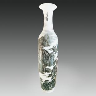 山水瓶 高180CM